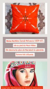Berbera Design- Reine Zayneb-histoire de la Reine berbère