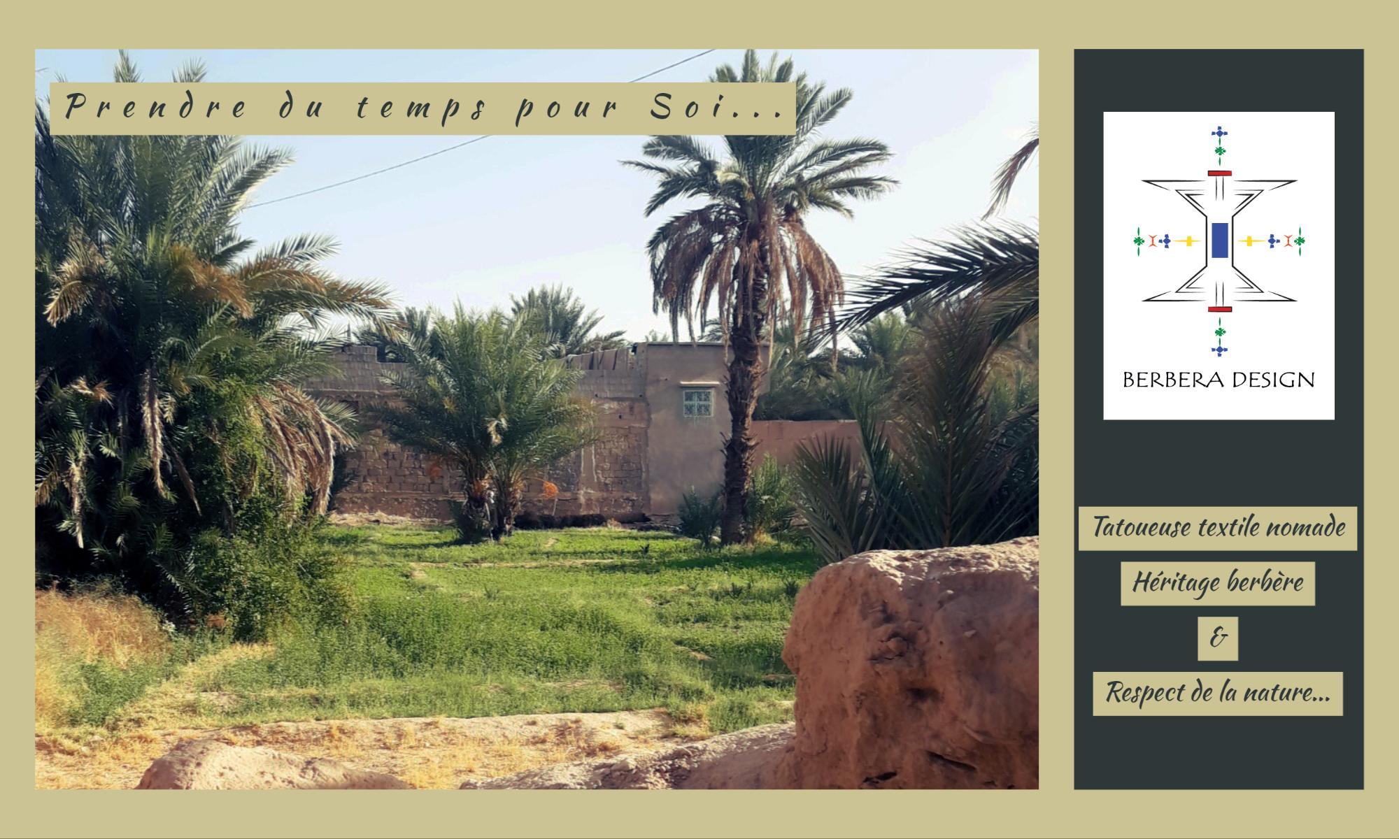 Berbera Design- photo site internet entête page- photo haut atlas-- logo- slogan