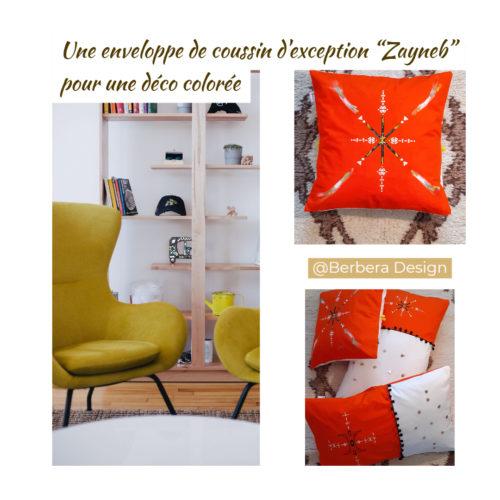 Berbera Design - Capsule Zayneb - idée déco avec les housses