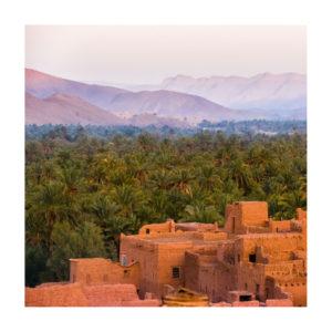 Berbera design- vallée des roses-oasis et maison traditionnelles berbères