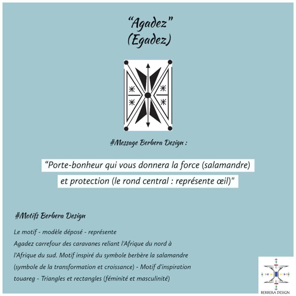 Berbera Design- Motif Agadez- créé créatrice