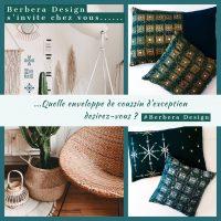 Berbera Design- déco intérieur boho chic avec à côté coussins housses Tazmurt